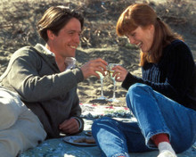 Hugh Grant & Julianne Moore in Nine Months Poster and Photo