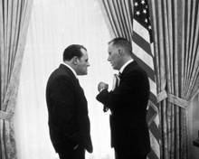Anthony Hopkins & James Woods in Nixon Poster and Photo