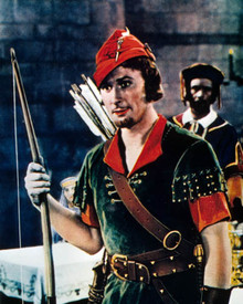 Errol Flynn in The Adventures of Robin Hood Poster and Photo