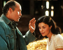 John Malkovich & Sherilyn Fenn in Of Mice and Men Poster and Photo