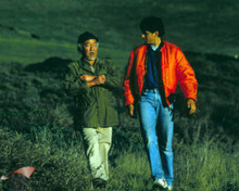 Ralph Macchio & Noriyuki 'Pat' Morita in The Karate Kid III Poster and Photo