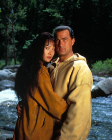 Steven Seagal & Joan Chen in On Deadly Ground Poster and Photo