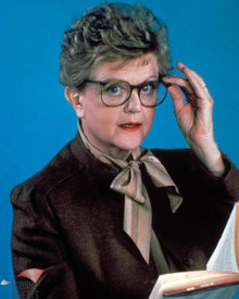 Angela Lansbury in Murder She Wrote Poster and Photo