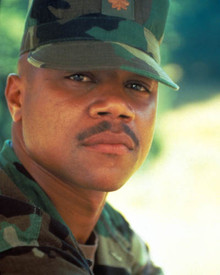Cuba Gooding Jr. in Outbreak Poster and Photo