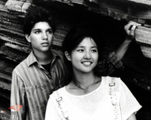 Ralph Macchio & Tamlyn Tomita in The Karate Kid, Part II Poster and Photo