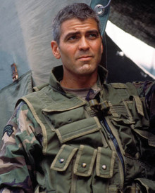 George Clooney in The Peacemaker Poster and Photo