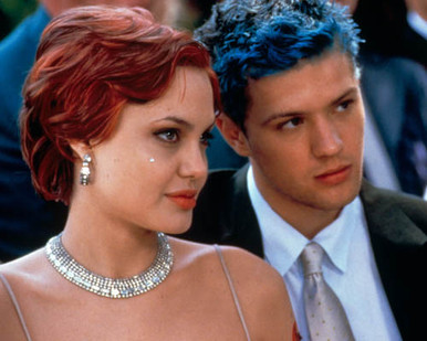 Ryan Phillippe & Angelina Jolie in Playing by Heart Poster and Photo