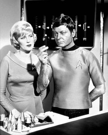 DeForest Kelley in Star Trek Poster and Photo