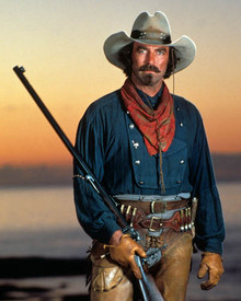 Tom Selleck in Quigley Down Under Poster and Photo