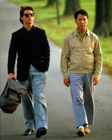 Dustin Hoffman & Tom Cruise in Rain Man Poster and Photo