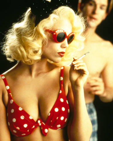 Matthew Modine & Elizabeth Berkley in The Real Blonde Poster and Photo