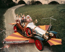 Dick Van Dyke & Heather Ripley in Chitty Chitty Bang Bang Poster and Photo