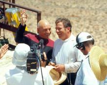 Patrick Stewart & William Shatner in Star Trek : Generations Poster and Photo
