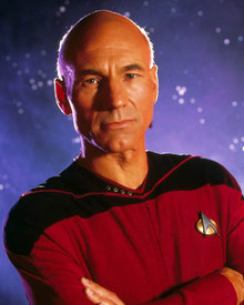 Patrick Stewart in Star Trek : The Next Generation Poster and Photo
