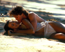 Brian Krause & Milla Jovovich in Return to the Blue Lagoon Poster and Photo