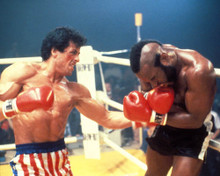 Sylvester Stallone & Mr. T in Rocky III Poster and Photo