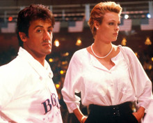 Sylvester Stallone & Brigitte Nielsen in Rocky IV Poster and Photo