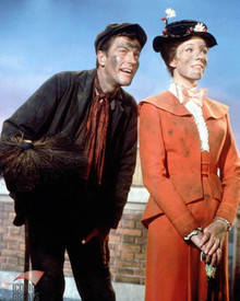 Julie Andrews & Dick Van Dyke in Mary Poppins Poster and Photo