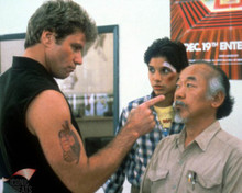 Ralph Macchio & Noriyuki 'Pat' Morita in The Karate Kid Poster and Photo