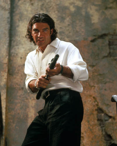 Antonio Banderas in Assassins Poster and Photo