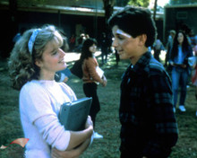Ralph Macchio & Elisabeth Shue in The Karate Kid Poster and Photo