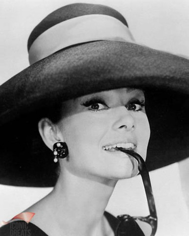 Audrey Hepburn in Breakfast at Tiffany's Poster and Photo