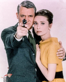 Audrey Hepburn & Cary Grant in Charade Poster and Photo