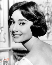 Audrey Hepburn in Love in the Afternoon Poster and Photo