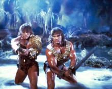 David Paul & Peter Paul in The Barbarian Brothers Poster and Photo