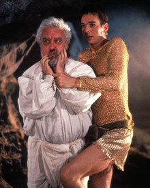 Bernard Cribbins & Julian Clary in Carry on Columbus Poster and Photo