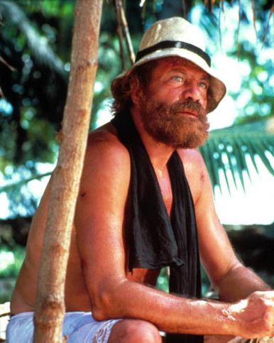 Oliver Reed in Castaway Poster and Photo