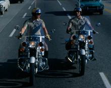 Larry Wilcox & Erik Estrada in CHiPs Poster and Photo