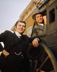 Ben Murphy & Pete Duel in Alias Smith and Jones Poster and Photo