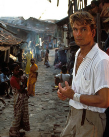 Patrick Swayze in City of Joy Poster and Photo