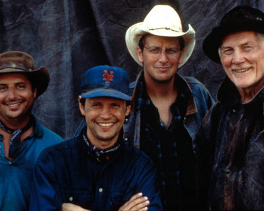 Cast in City Slickers II:The Legend of Curly's Gold Poster and Photo