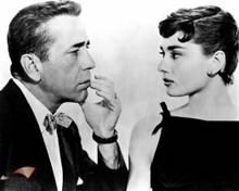 Humphrey Bogart & Audrey Hepburn in Sabrina a.k.a. Sabrina Fair Poster and Photo