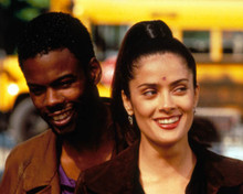 Salma Hayek & Chris Rock in Dogma Poster and Photo