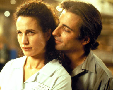 Andie MacDowell & Andy Garcia in Just the Ticket Poster and Photo