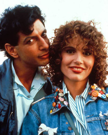 Jeff Goldblum & Geena Davis in Earth Girls Are Easy Poster and Photo