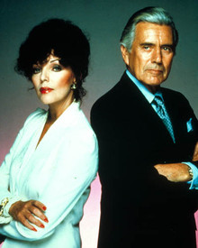 Joan Collins & John Forsythe in Dynasty Poster and Photo