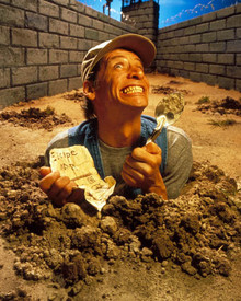 Jim Varney in Ernest Goes to Jail Poster and Photo
