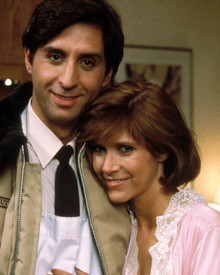 Carrie Fisher & Ron Silver in Garbo Talks Poster and Photo
