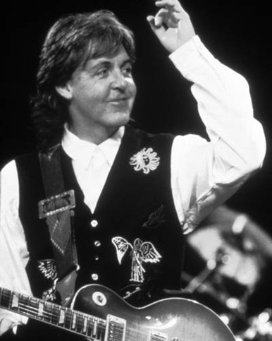 Paul McCartney in Get Back Poster and Photo
