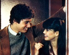 Phoebe Cates & Zach Galligan in Gremlins Poster and Photo