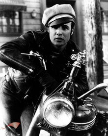 Marlon Brando in The Wild One Poster and Photo