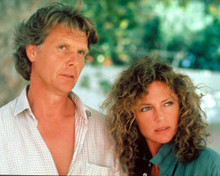 Jacqueline Bisset & James Fox in High Season Poster and Photo