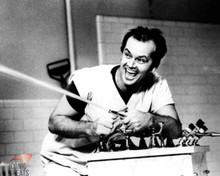 Jack Nicholson in One Flew Over the Cuckoo's Nest Poster and Photo