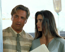 Jennifer Connelly & Don Johnson in The Hot Spot Poster and Photo