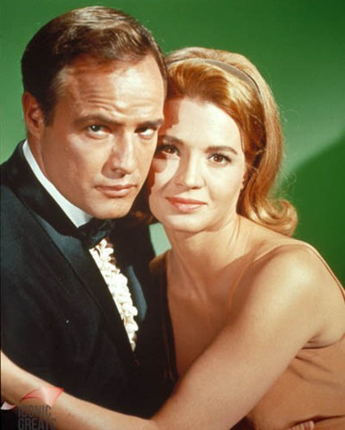 Marlon Brando & Angie Dickinson in The Chase Poster and Photo