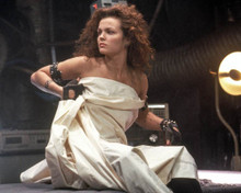 Dina Meyer in Johnny Mnemonic Poster and Photo